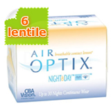 AIR OPTIX - Night & Day - AQUA - 6 pack